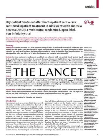 publication by Beate Herpertz-Dahlmann (The Lancet)